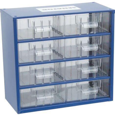 Senator 8 Drawer Small Parts Storage Cabinet