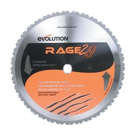 Evolution Power Tools RAGE2 355MM Multi Blade