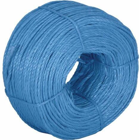 4MM X 220M Coil Polypropylene Rope Blue