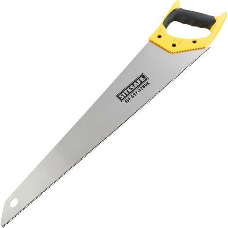"""Sitesafe 22"""" X 8PT Hardpoint Handsaw"""