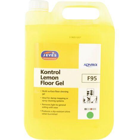 Jeyes F95 Kontrol Lemon Floor Gel 5LTR