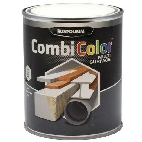 Rust-oleum 7390MS CombiColor Matt White Multi-surface Paint - 750ML
