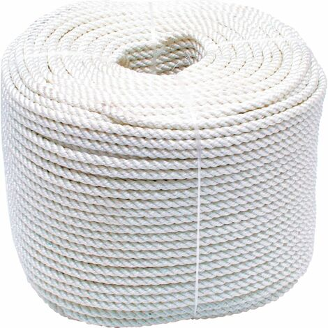 6MM X 220M Coil 3-Strand Nylon Rope
