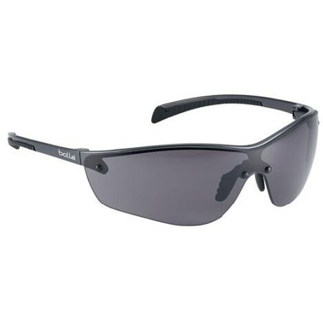 Bolle Silium+ Scratch-resistant/Anti-fog Platinum Coated Smoke Lens Safety Spect