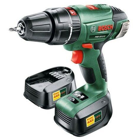 Bosch DIY PSB 1800 18V LI-2 Impact Drill