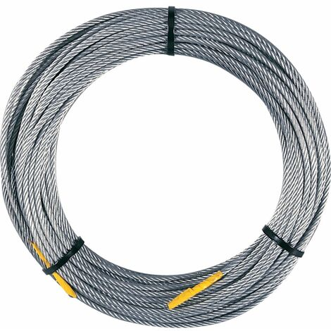 Ttc Lifting Gear 66905 6X19FC 5MMX20M Steel Wire Rope