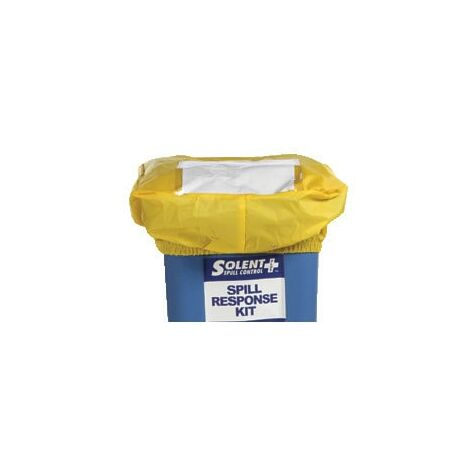 Solent Spill Control Audit Spill Cover For 240L Bin Yellow