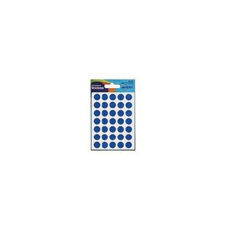 Avery Dennison 32-308 Blue Labels 13MM Dia (Pack-210)