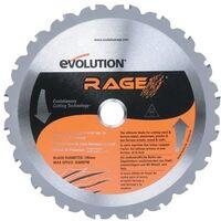 Evolution Power Tools RAGE/RAGE4 185MM Multi Blade
