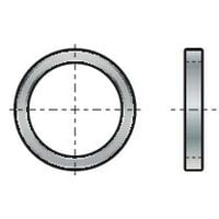 Qualfast 8X12X1.0MM Copper Sealing Ring Annealed DIN 7603A- you get 50