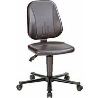 ESD Unitec 2 Low Chair Black with Castors