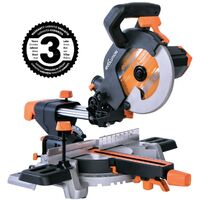 Evolution Power Tools R210SMS+ 210MM Multi Purpose Single Bevel Sliding Compound