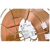 Esab 0.8MM OK Autrod 12.51 Premium Copper Coated Solid MIG Wire 5KG Reel - 12510