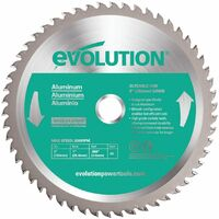 Evolution Power Tools EVOBLADE230AL TCT Saw Blade for Aluminium 230MM - 54 Teeth
