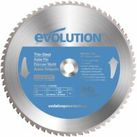 Evolution Power Tools EVOBLADE355TS TCT Saw Blade for Thin Mild Steel 355MM - 36