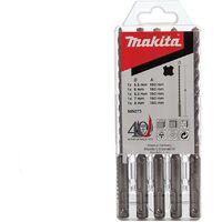 Makita 98N373 SDS Plus Drill Bit Set (5 Piece) 160MM