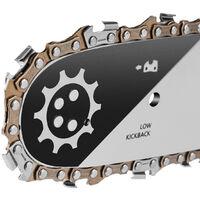 Tronconneuse GS620X moteur à essence 2 temps 62cc 3,8cv. Épée de 20 pouces. Nombre de dents 86. Guidon ergonomique. - Greencut