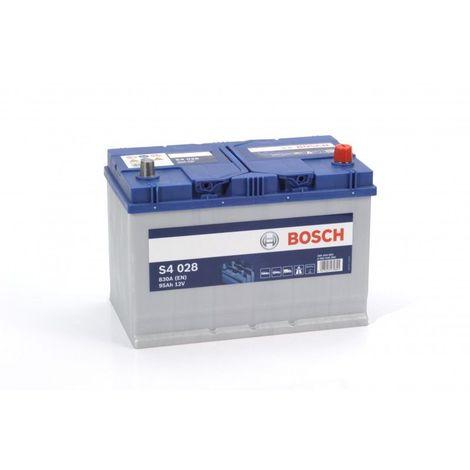 Batería de Coche Bosch 95Ah 830A EN S4028 borne + dcha