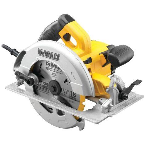 Scie circulaire DEWALT Ø190 mm 1600W + coffret - DWE575K