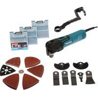 Découpeur Ponceur Multifonctions MAKITA 320W + Accessoires en Coffret MAK-PAC - TM3010CX3J