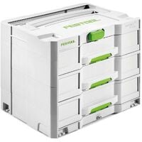 Systainer FESTOOL Sys 4TL-Sort - 3 tiroirs - 200119