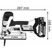 Scie sauteuse BOSCH GST 18V-LI -Sans chargeur ni batterie - Coffret L-Boxx - 06015A5101
