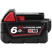 Batterie MILWAUKEE 18V 6,0Ah Red Lithium M18 - M18 B6 - 4932451244