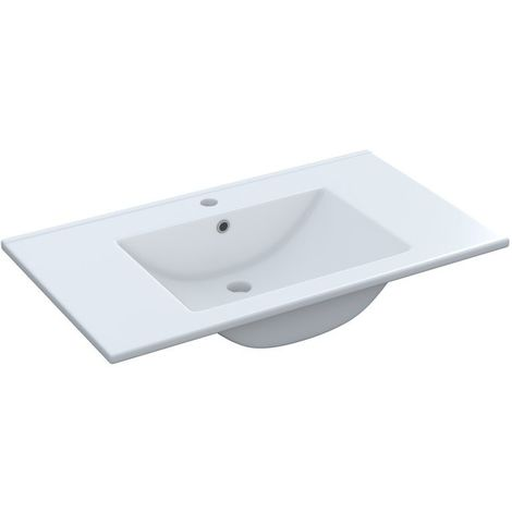Lavabo Lavamanos de cerámico 80x45