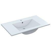 Mueble baño suspendido 80 cm con espejo NO incluye lavamanos