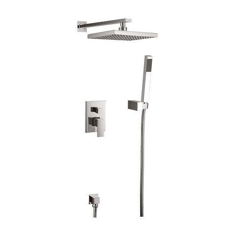 Kit robinet intégral pour salle de bain design en laiton