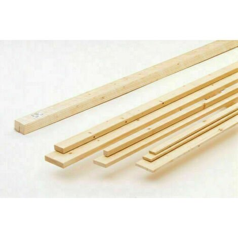 Cornice terminale a u e listelli per grigliato in legno di abete dimensione disponibile: listello pino mm 10x30x1950
