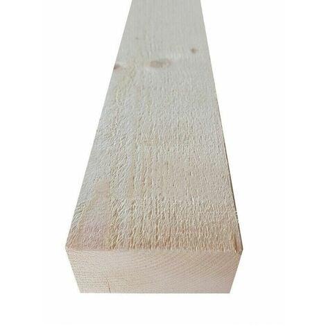 Listello in legno di abete grezzo cm 4 x 4 - 5 - 6 - 7 - 8 - 9 - 10 x 225 dimensione disponibile: cm 4 x 4 x 225