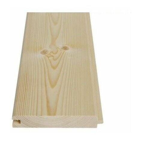 Perlina legno abete mm 20x150x2500 doghe ad incastro da rivestimento qualitÀ ab