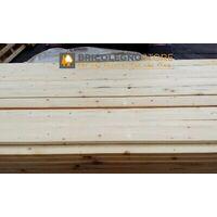 Tavola grezza carpenteria in legno abete cm 2,5 x 12 x 300 - metri 3