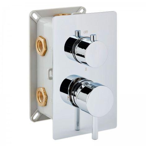 Mitigeur de douche mural à encastrer UP1-013-01 avec inverseur à 3 sorties