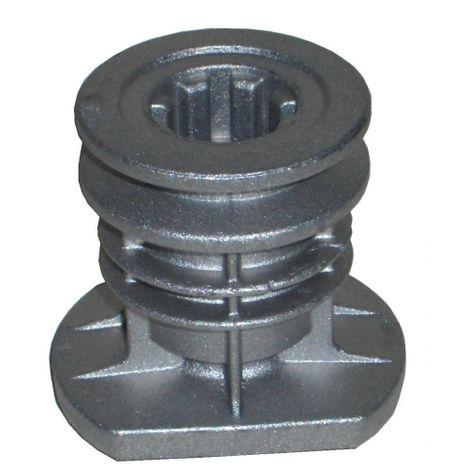 122465607/4 - Support de lame D. 22.2mm pour tondeuse CASTELGARDEN / GGP
