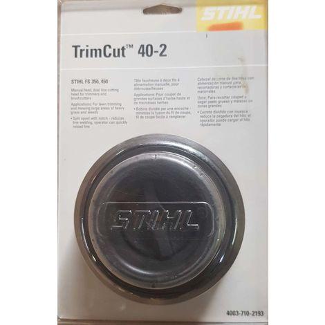 40037102193 - Tête Faucheuse TrimCut 40-2 pour Débroussailleuse STIHL