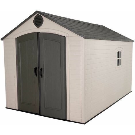 Lifetime 8 Ft. x 12.5 Ft. Outdoor Storage Shed