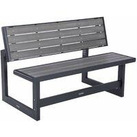 Lifetime Convertible Bench, Grey - Gray