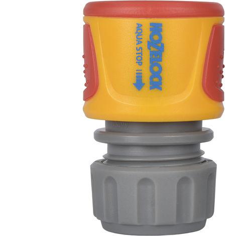 Raccord AquaStop ø 12,5 et 15 mm - Hozelock 2075 0000 - Garantie 2 ans