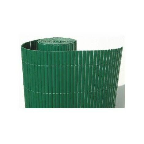 CAÑIZO DE PVC VERDE DOBLE CARA 1350 GRAMOS 1 X3 METROS MODELO 2021