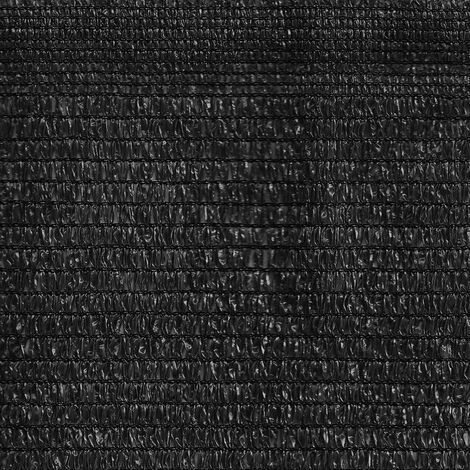 Malla De Sombreo Ratcher Color Negra- Medida 1 Alto X 100 Largo