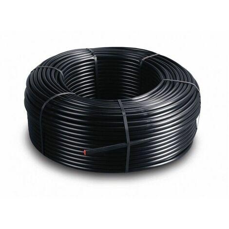 Tuberia de riego 16 mm con goteros integrados a 40 cm. 50 metros