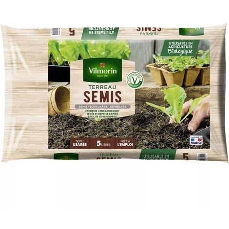 Terreau semis bouturage repiquage sac de 5 litres