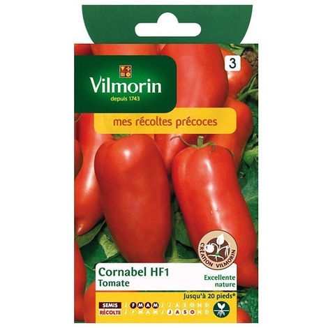 Sachet graines Tomate Cornabel HF1
