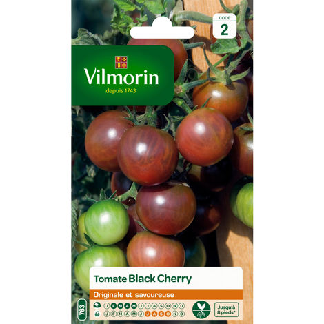 Sachet graines Tomate Black Cherry