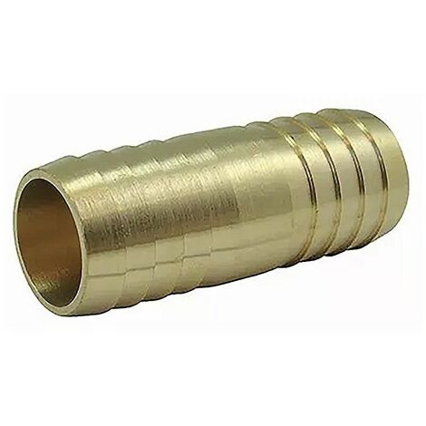 Jonction tubulaire en laiton - 40mm