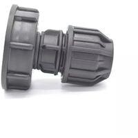 Raccord s60x6 - sortie pression Ø25mm - 25mm