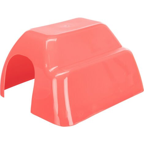 Maison en plastique pour cochons d'inde 23 x 15 x 26 cm couleur aléatoire