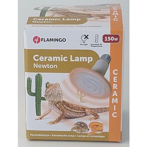 Lampe ceramique HELIOS - 150 W. pour terrarium.